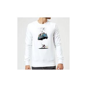 Marvel Deadpool Ice Cream Sweatshirt - White - XXL - White
