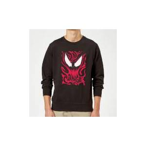 Marvel Venom Carnage Sweatshirt - Black - L - Black