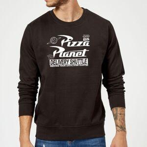 Pixar Toy Story Pizza Planet Logo Sweatshirt - Black - XL - Black