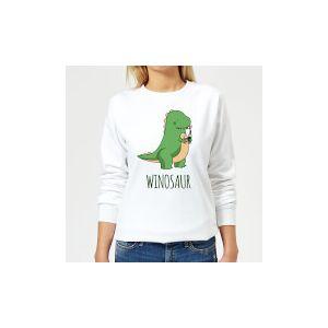 By IWOOT Winosaur Women's Sweatshirt - White - XS - White