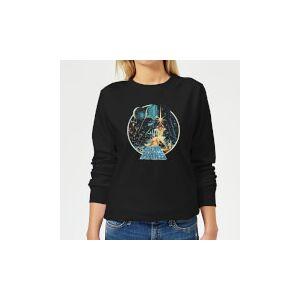 Star Wars Vintage Victory Women's Sweatshirt - Black - S - Black