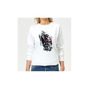 Marvel Venom Inside Me Women's Sweatshirt - White - L - White