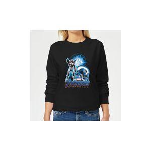 Marvel Avengers: Endgame War Machine Suit Women's Sweatshirt - Black - XXL - Black