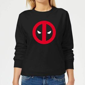 Marvel Deadpool Clean Logo Women's Sweatshirt - Black - XS - Black