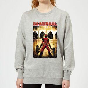 Marvel Deadpool Target Practice Women's Sweatshirt - Grey - L - Grey