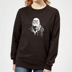 Marvel Avengers Infinity War Fierce Thanos Women's Sweatshirt - Black - XL - Black