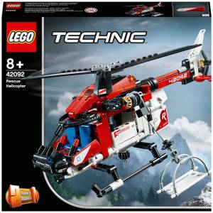 LEGO Technic: Rescue Helicopter 2 in 1 Building Set (42092)