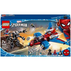 LEGO Marvel Spider-Man Jet vs. Venom Mech Playset (76150)