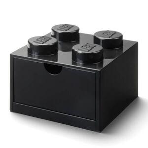 Room Copenhagen LEGO Storage Desk Drawer 4 - Black