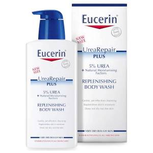 Eucerin® Dry Skin Replenishing Body Wash 5% Urea Plus Lactate (400ml)