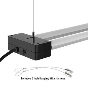 Feit 4-Foot Black 3700 Lumen 4000K LED Dual Utility Light - Style # 93J19