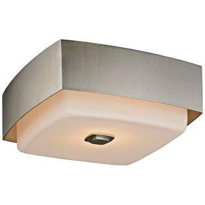 "Troy Allure 13"" Wide Silver Leaf Square Ceiling Light - Style # 23V99"