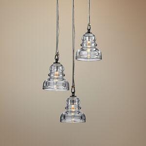 "Troy Menlo Park 13 3/4"" Wide Deep Bronze Multi Light Pendant - Style # 34V10"