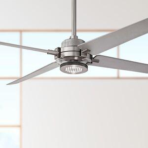 """Minka Aire 60"""" Minka Aire Spectre Silver - Nickel LED Ceiling Fan - Style # 8Y267"""