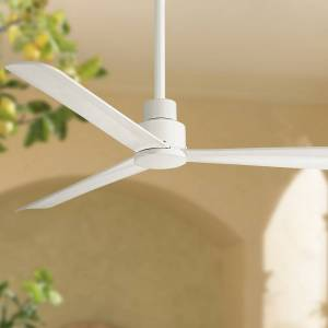 """Minka Aire 52"""" Minka Aire Simple White Outdoor Ceiling Fan - Style # 9G066"""