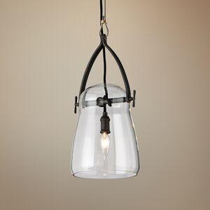 "Troy Lighting Silverlake 8"" Wide French Iron Mini Pendant - Style # 9P299"