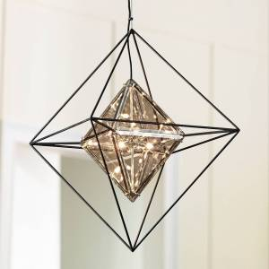 """Troy Lighting Epic 24"""" Wide Forged Iron Pendant Light - Style # 9P318"""