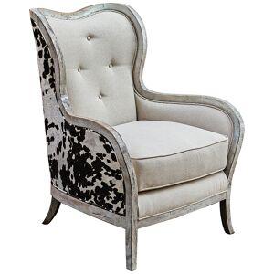 Uttermost Chalina Bone White Armchair - Style # 4N481