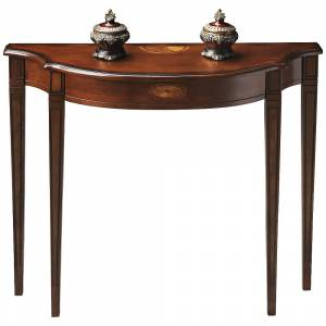 "Butler Plantation 36"" Wide Cherry Finish Traditional Console Table - Style # 2T351"