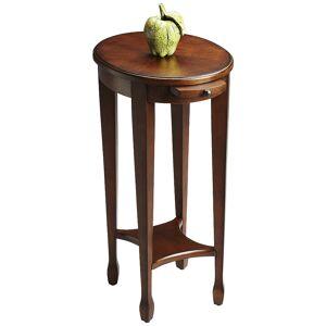 "Butler Masterpiece 15"" Wide Cherry Veneered Hardwood Accent Table - Style # 3T496"