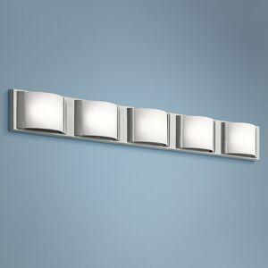 "Elan Bretto 37 1/4"" Wide Brushed Nickel LED Bath Light - Style # 10G64"