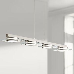 "Elan Azenda 33 1/2""W Nickel LED Kitchen Island Light Chandelier - Style # 19R89"