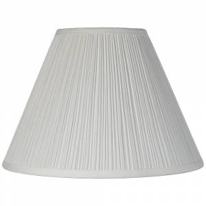 Brentwood White Lamp Shade 6.5x15x11 (Spider) - Style # 2M863