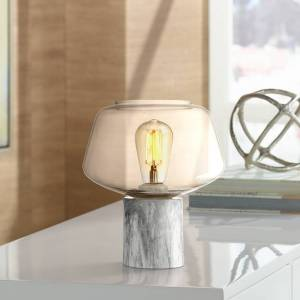 """360 Lighting Rolf 9 3/4"""" High Contemporary Accent Table Lamp - Style # 32V12"""