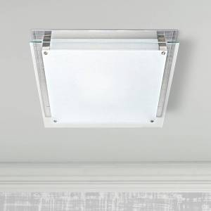 """Access Vision 15 3/4"""" Wide Brushed Steel LED Ceiling Light - Style # 3C911"""