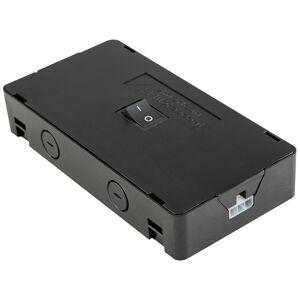 "AFX Noble Pro 2.75"" Wide Undercabinet Light Black Hardwire Box - Style # 69G71"
