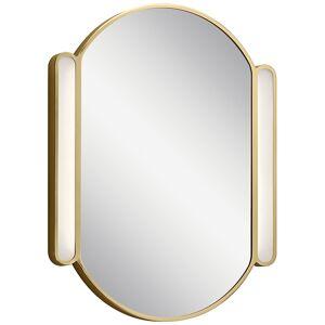 "Elan Phaelan Champagne Gold 23 1/4"" x 29 3/4"" LED Wall Mirror - Style # 74V14"