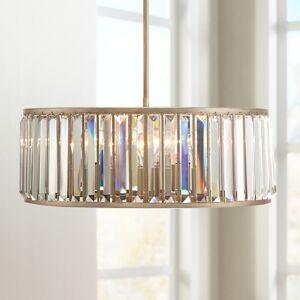 "Vienna Acoustics Jania 20 3/4"" Wide Soft Gold Finish Crystal Pendant Light - Style # 8G500"