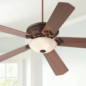 "Casa Vieja 70"" Vista Del Sol Traditional Bronze Large Ceiling Fan with Light - Style # 64T95"
