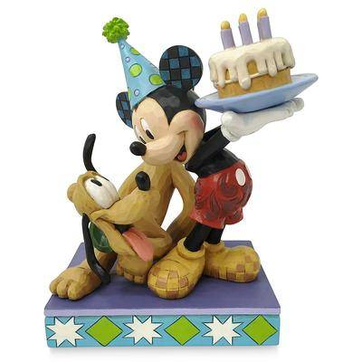 Jim Shore Mickey Mouse and Pluto ''Happy Birthday, Pal!'' Figure by Jim Shore - Official shopDisney