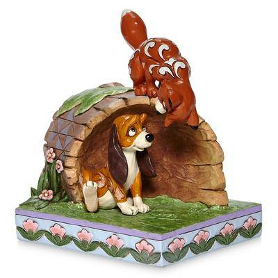 Disney The Fox and the Hound ''Unlikely Friends'' Figure by Jim Shore - Official shopDisney