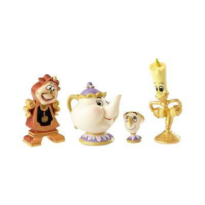 Enesco Enchanted Objects Couture de Force Figure Set by Enesco Beauty and the Beast - Official shopDisney
