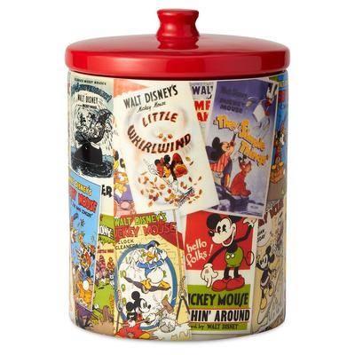 Enesco Mickey Mouse Poster Art Collage Kitchen Canister - Official shopDisney