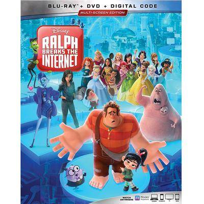 Disney Ralph Breaks the Internet Blu-ray Combo Pack Multi-Screen Edition - Official shopDisney