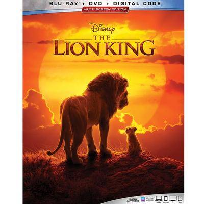 Disney The Lion King Blu-ray Combo Pack 2019 Film - Official shopDisney