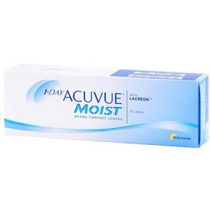 Acuvue 1-DAY ACUVUE MOIST 30pk Contact Lenses