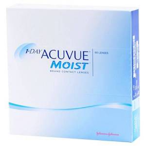 Acuvue 1-DAY ACUVUE MOIST 90pk Contact Lenses
