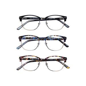 Lunettos Bellatrix Reading Glasses 3-Pack