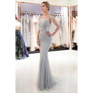 Babyonlinewholesale MAXINE   Mermaid Sweetheart Illusion Neckline Sequins Beading Evening Dresses