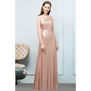 Babyonlinewholesale JOSIE   A-line Scoop Sleeveless Floor Length Sequined Prom Dresses