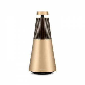 Bang & Olufsen Beosound 2 with The Google Voice Assistant, Gold Tone, Powerful Multiroom Speaker   B&O   Bang and Olufsen