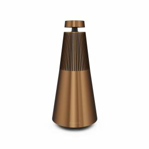 Bang & Olufsen Beosound 2 with The Google Assistant, Bronze Tone, 360-audio Wireless Speaker   B&O   Bang and Olufsen
