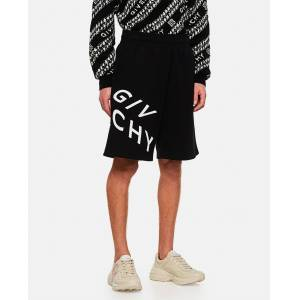 GIVENCHY Refracted embroidered short pants - Black - male - Size: M