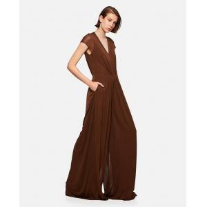 Ralph Lauren Flared Suit - Brown - female - Size: 4