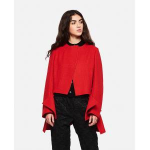 Comme des Garcons Single-breasted jacket - Red - female - Size: S