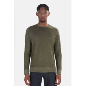 President's Men's President's Wool Cashmere Sweater in Green, Size XL